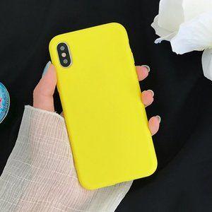 NEW iPhone 11/Pro/Max Anti-Knock Yellow case
